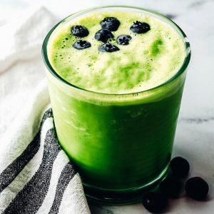 Zelené jarní smoothie
